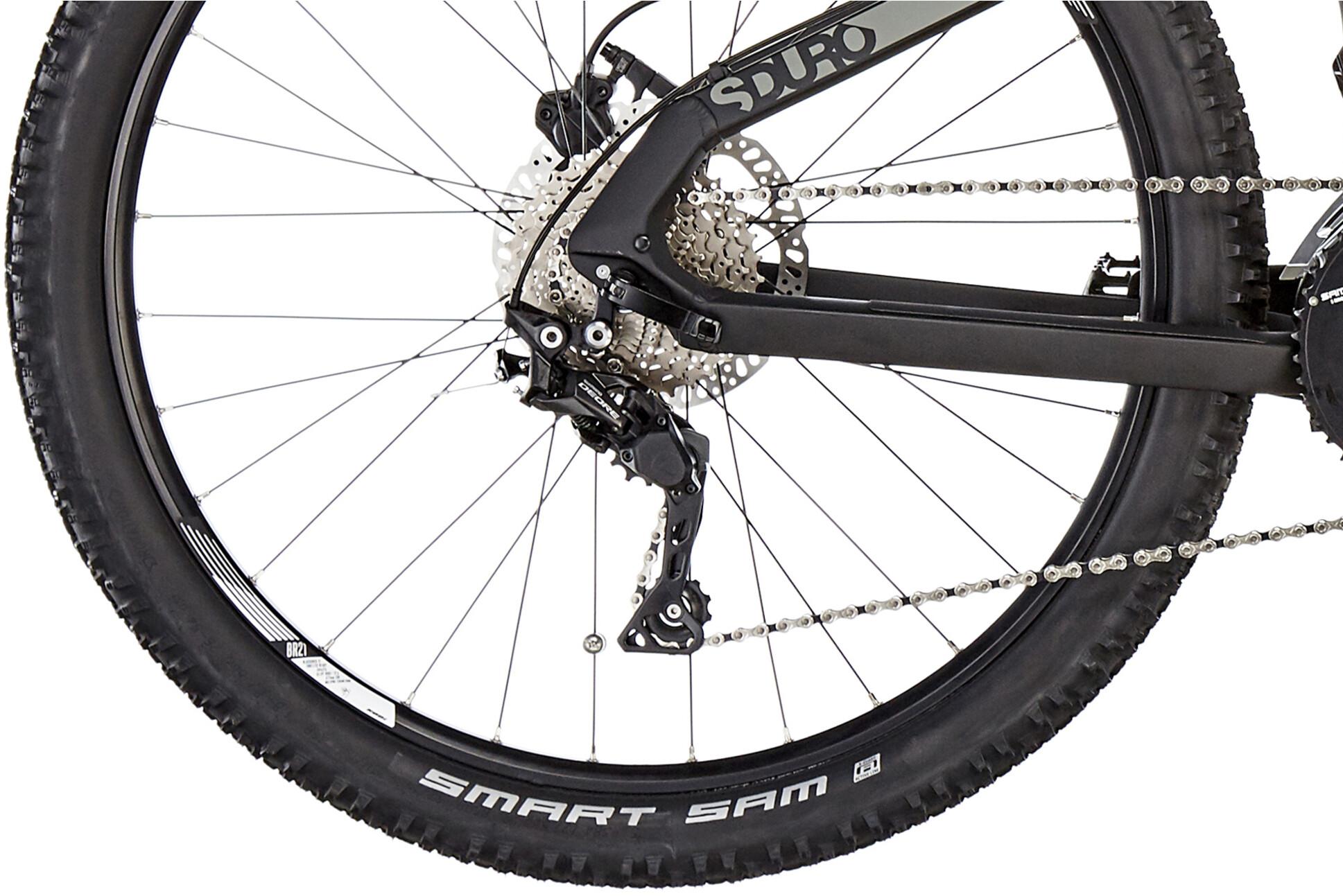 777daeb465fcdc ▷ HAIBIKE SDURO HardSeven 3.0 schwarz grau weiß matt online bei ...